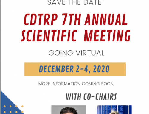 Save the Date! – CDTRP 7th Annual Scientific Meeting