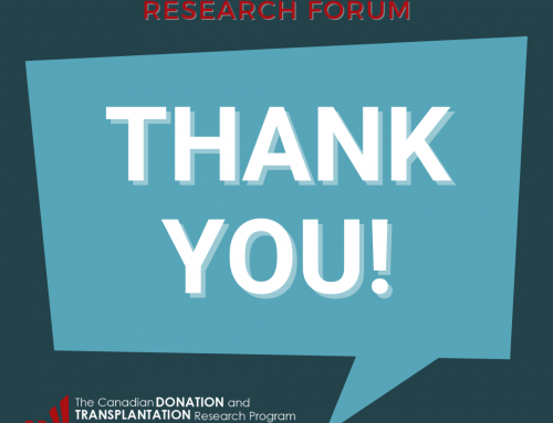 Thank you for a successful CDTRP Patient, Family and Donor Research Forum!